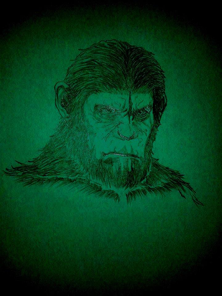 Caesar - Apes Revolution by Gedref