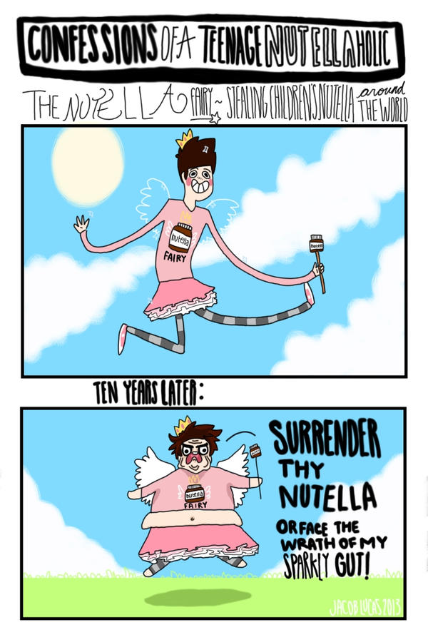 The Nutella Fairy by LucasInGreen