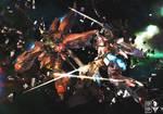 Sinanju VS Unicorn Gundam
