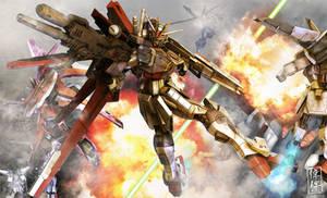Force Impulse Gundam: Teamwork