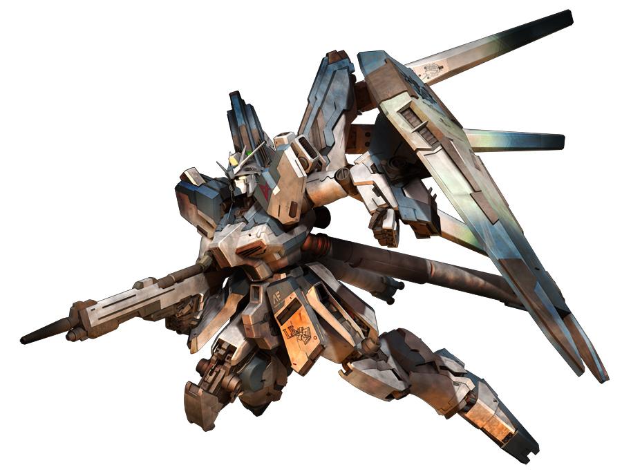 Hi-Nu Gundam by sandrum