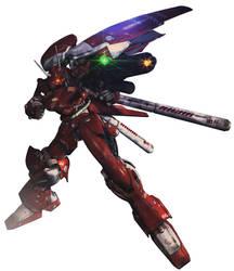 Gerbera Tetra Kai (ver KA) [Gundam 0083] by sandrum