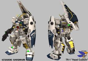 Custom Hazel Gundam by sandrum