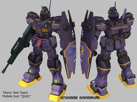 Titans Test Team Quel by sandrum