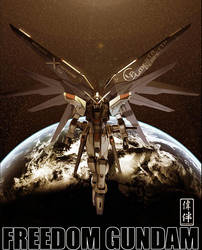 Freedom Gundam: Ale di Liberta by sandrum