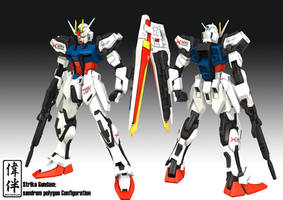 Strike Gundam by sandrum
