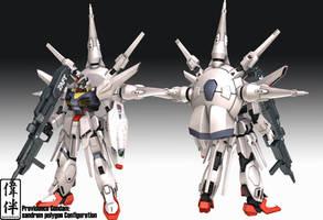 Providence Gundam by sandrum