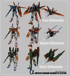 Impulse Gundam-Silhouette Sys.