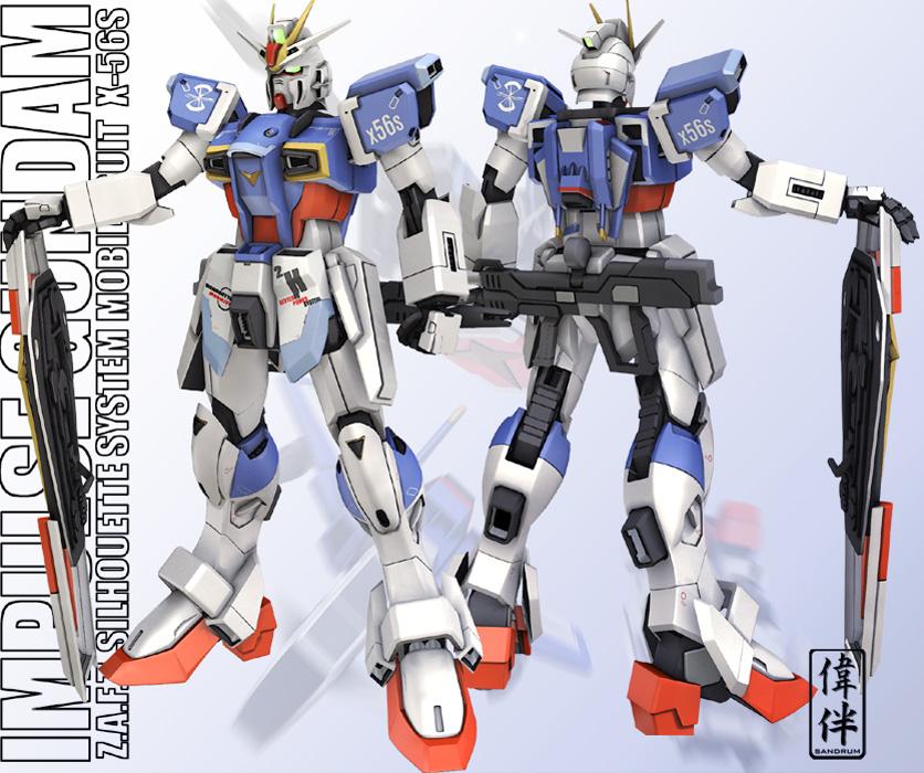 Impulse Gundam - Ricombinato by sandrum
