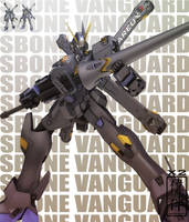 Crossbone Gundam: X2 by sandrum