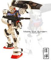 Gundam ver KA by sandrum