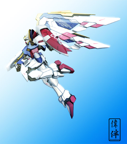 Wing Gundam: Early Avatar by sandrum