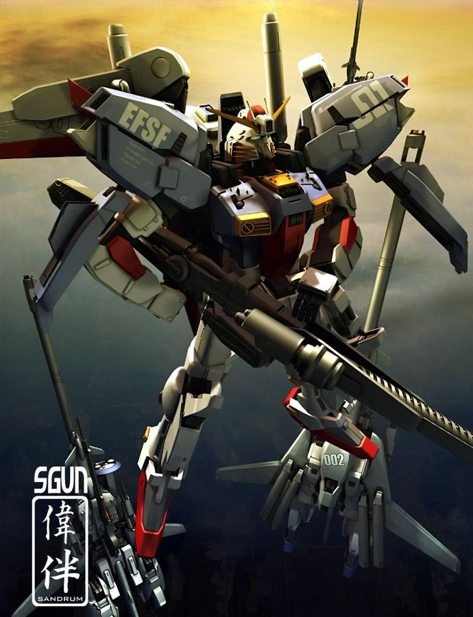 S-Gundam by sandrum