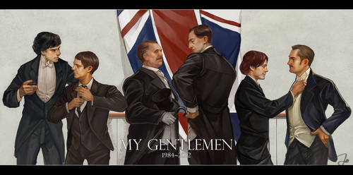 My gentlemen by godforget