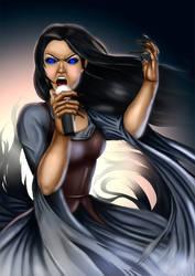 vampire rocker by dotlineshape