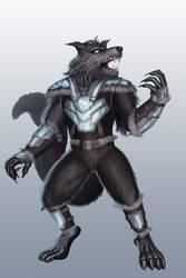 Werewolf by dotlineshape