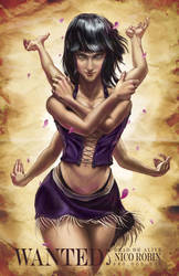 WANTED: NICO ROBIN by Doomsplosion