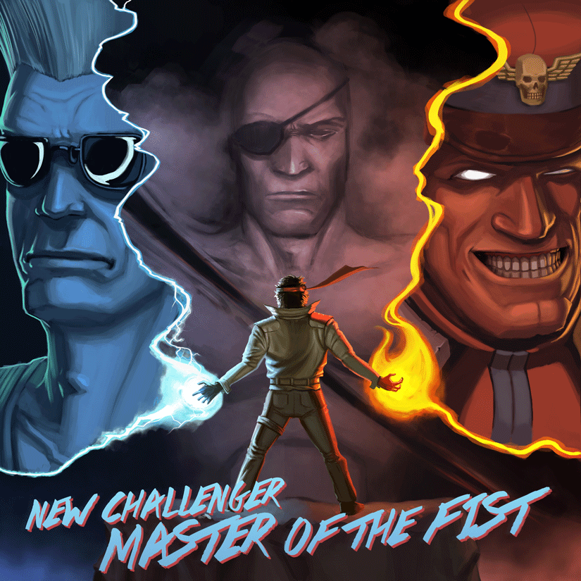New Challenger - Master of the Fist EP Cover