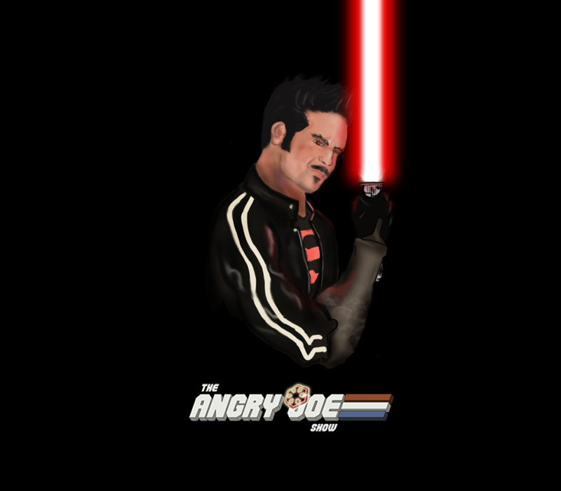 Angry Joe Sith by soccerdemon