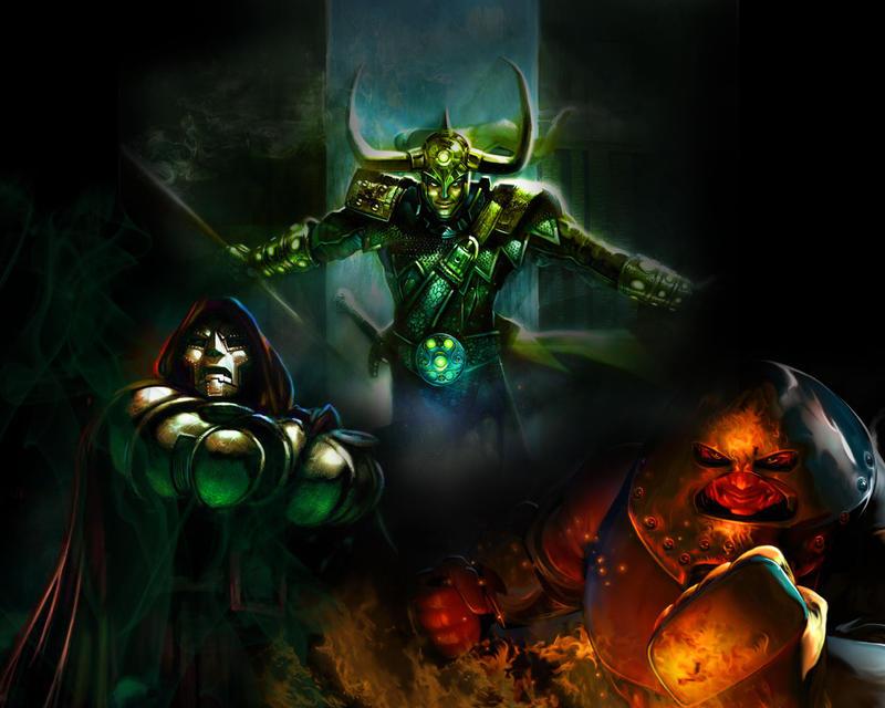 Marvel Villains by soccerdemon