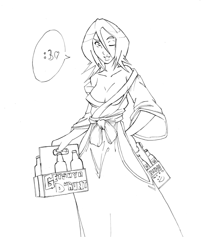 rough BUZZ with Rukia by WickedStar