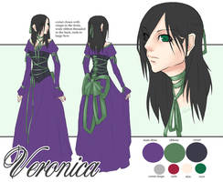 Veronica character sheet by nobuko-san