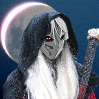 Masked Drow Mage by Nosfy