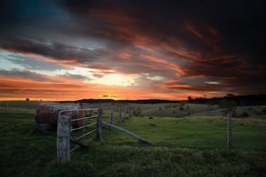 Storybook Sunset by retorrr
