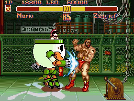 Clown Mech Street Fighting by ThornBlackstar