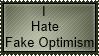 Fake Optimism by MoronicGlassKiller