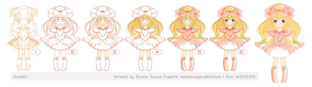 Fiore Process by SoumaArt
