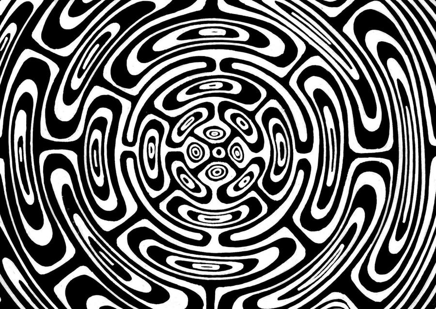 Line Design Op Art : You won t believe your eyes the dizzying history of op art