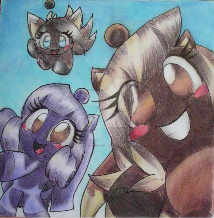 Mis chaos! by AriLorenHedgehog