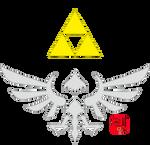 Hylian Symbol Skyward Sword by lionheart214