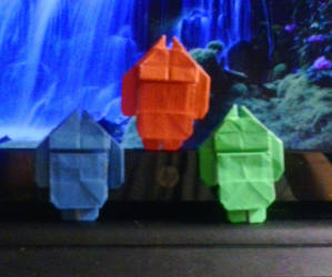 Origami Androids by lionheart214
