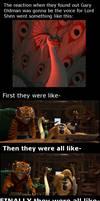Kung Fu Panda Cast is like OMG