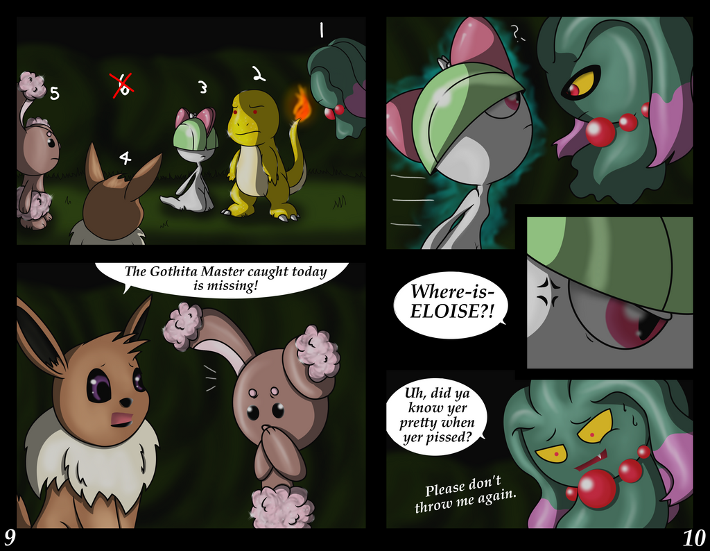 Pokemon Adventures: The Pit pgs 910 by The9Tard on DeviantArt