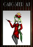 Gangster Meme: Gardenia Lorbence- The Black Rose by The9Tard
