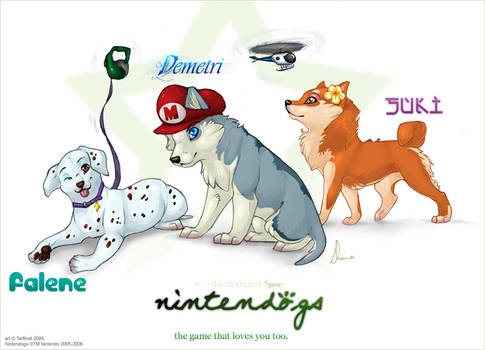 Nintendogs Love You Too