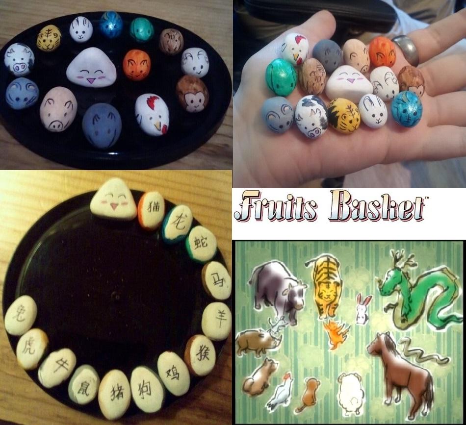 Fruits Basket Stone Zodiac Charms By Frosty-Rain On DeviantArt