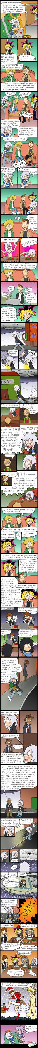 Ryou's Christmas Adventure by indecisivepancake