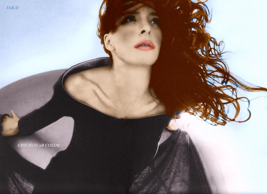 Mylene Farmer Marino Parisotto Vay Chichou.08 Col by garbobrooks