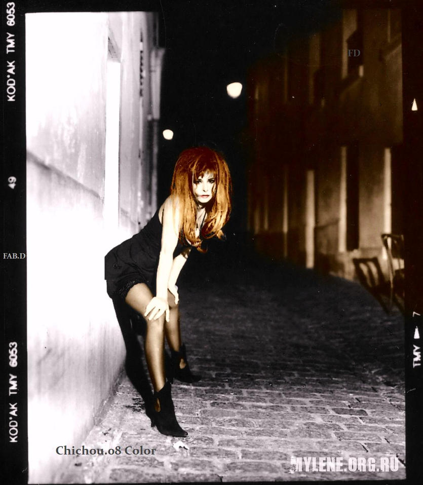 Mylene Farmer MPV Chichou.08 Color by garbobrooks
