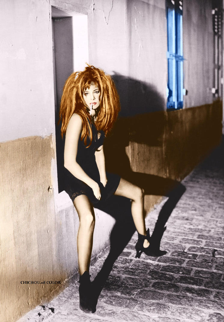 Mylene Farmer M.P.V Chichou.08 Color by garbobrooks