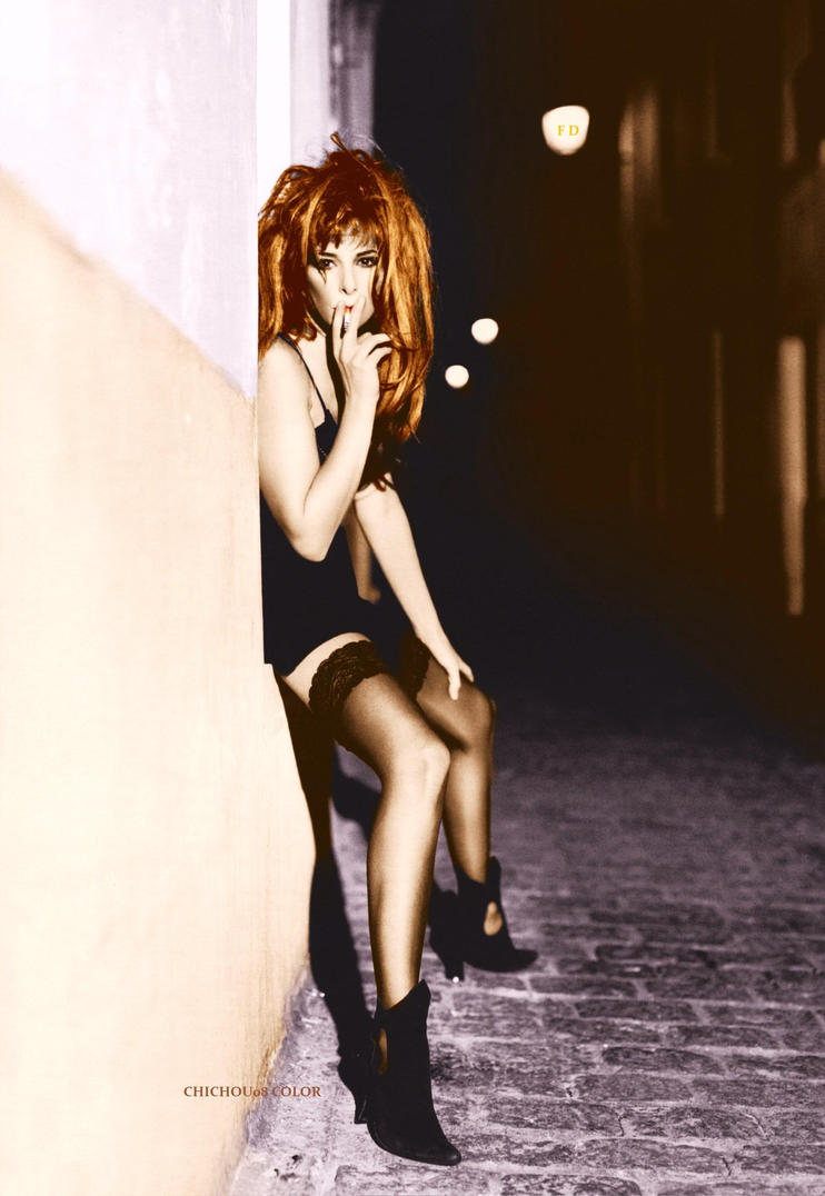 Mylene Farmer M.Parisotto Vay Chichou.08 Color by garbobrooks