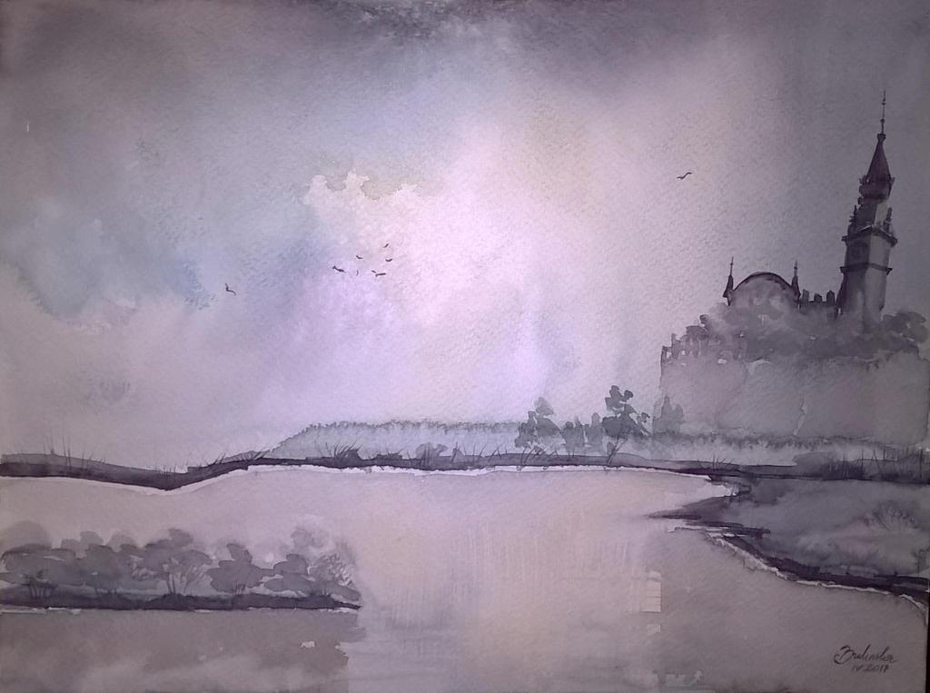 Rainy day by Cisowa