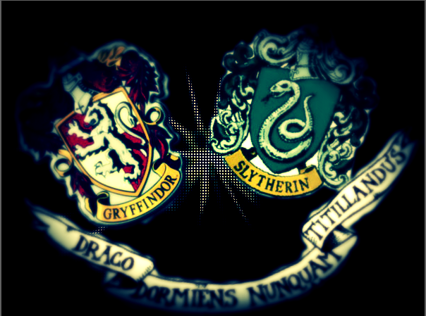 gryffindor and slytherin by starmadness on DeviantArt