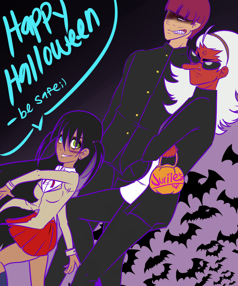 Halloween Rumble by RainbowCyclone