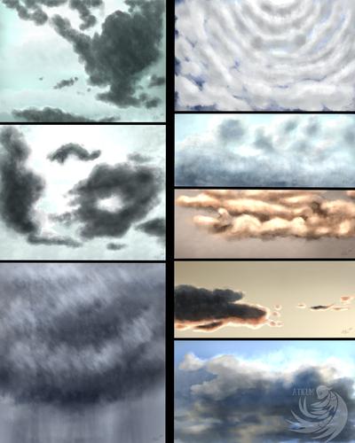 Clouds Study by Aticum
