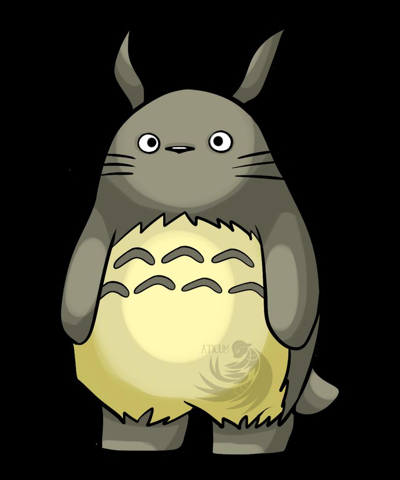 Totoro by Aticum